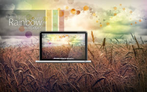 MBP RainbowCountry Wallpaper by Martz90