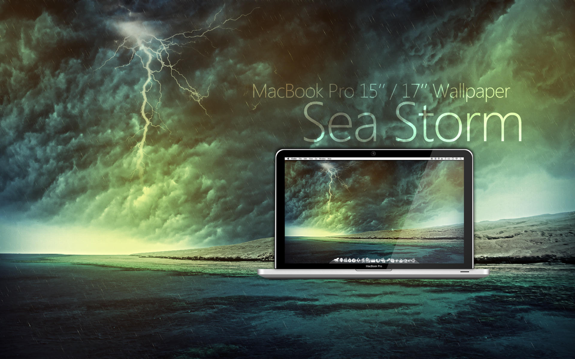 MBP Sea Storm Wallpaper by Martz90