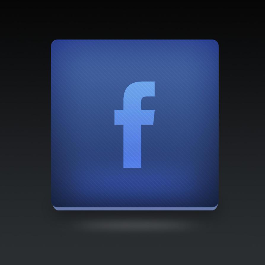 Facebook icon PSD by Martz90