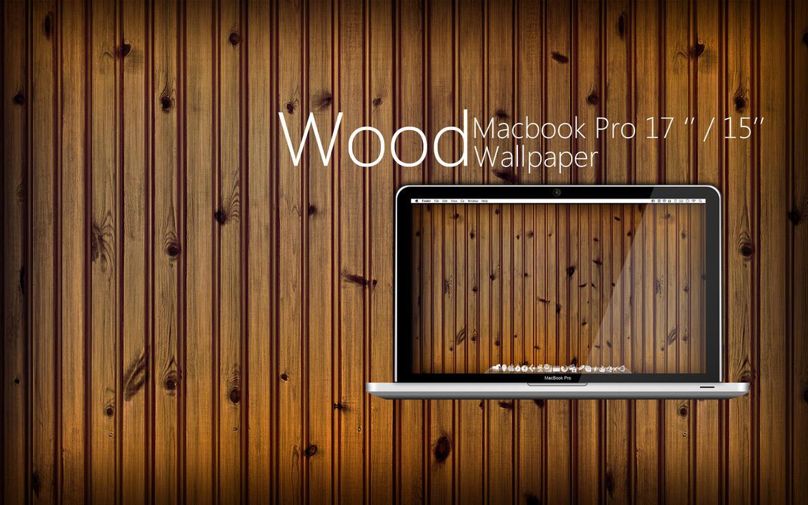 MBP Wood Wallpaper By Martz90