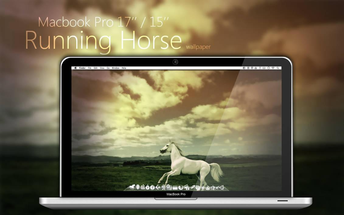 Mbp Running Horse Wallpaper Skin Pack Theme For Windows 10