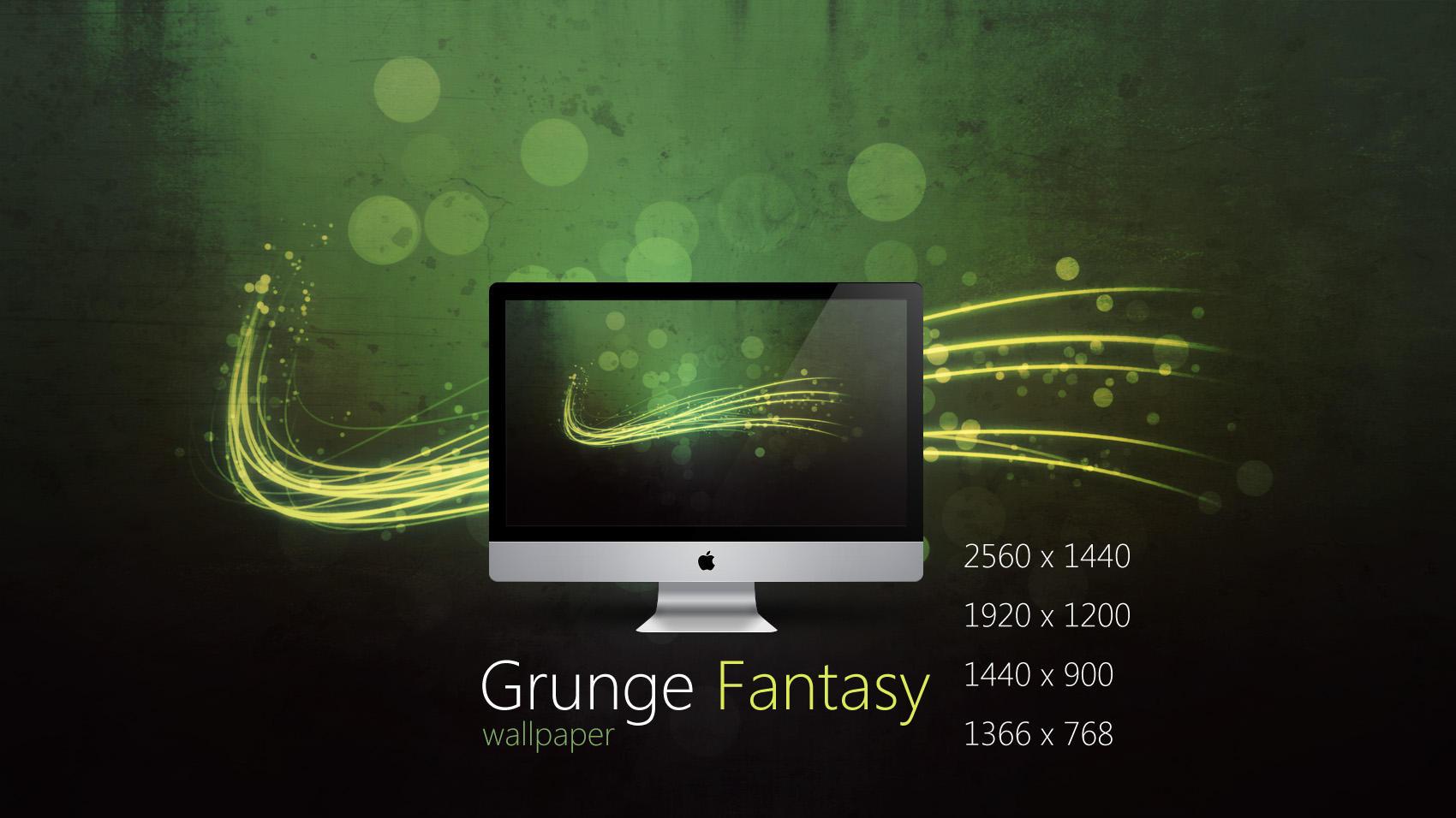 Grunge Fantasy Wallpaper by Martz90