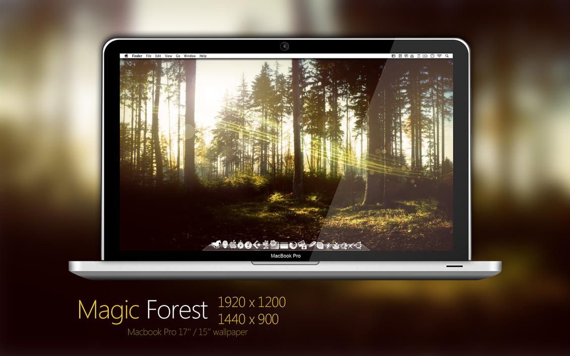 MBP Magic Forest Wallpaper by Martz90