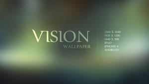 Vision Wallpaper by Martz90
