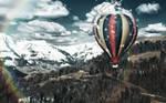 Mountain Flight MBP Wallpaper