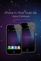 iPhone 4 Galaxy II Wallpaper by Martz90
