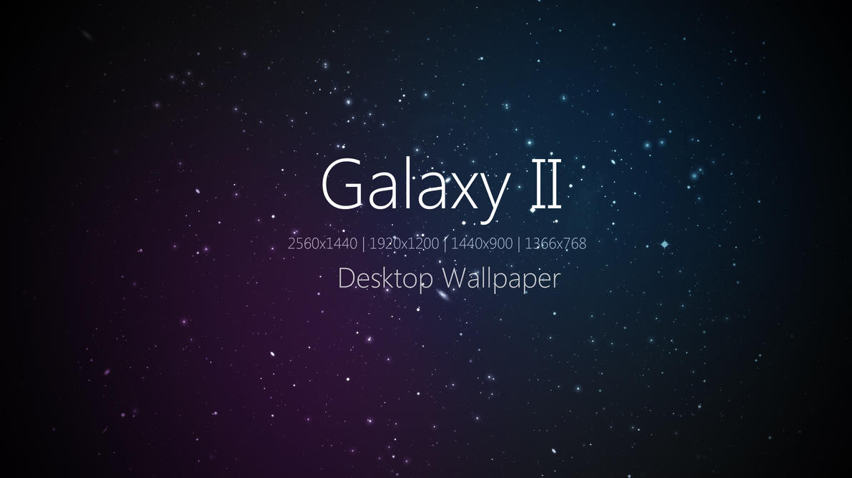 Galaxy II Desktop Wallpaper by Martz90