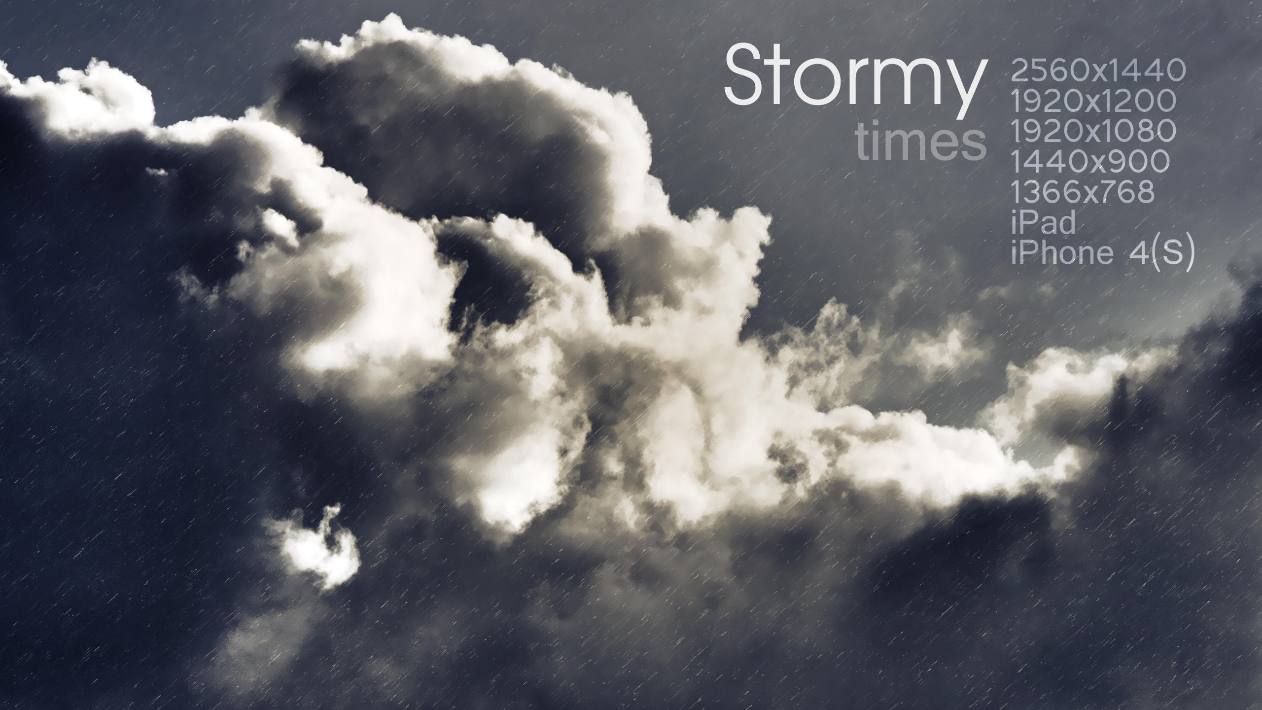 Stormy Times wallpaper by Martz90
