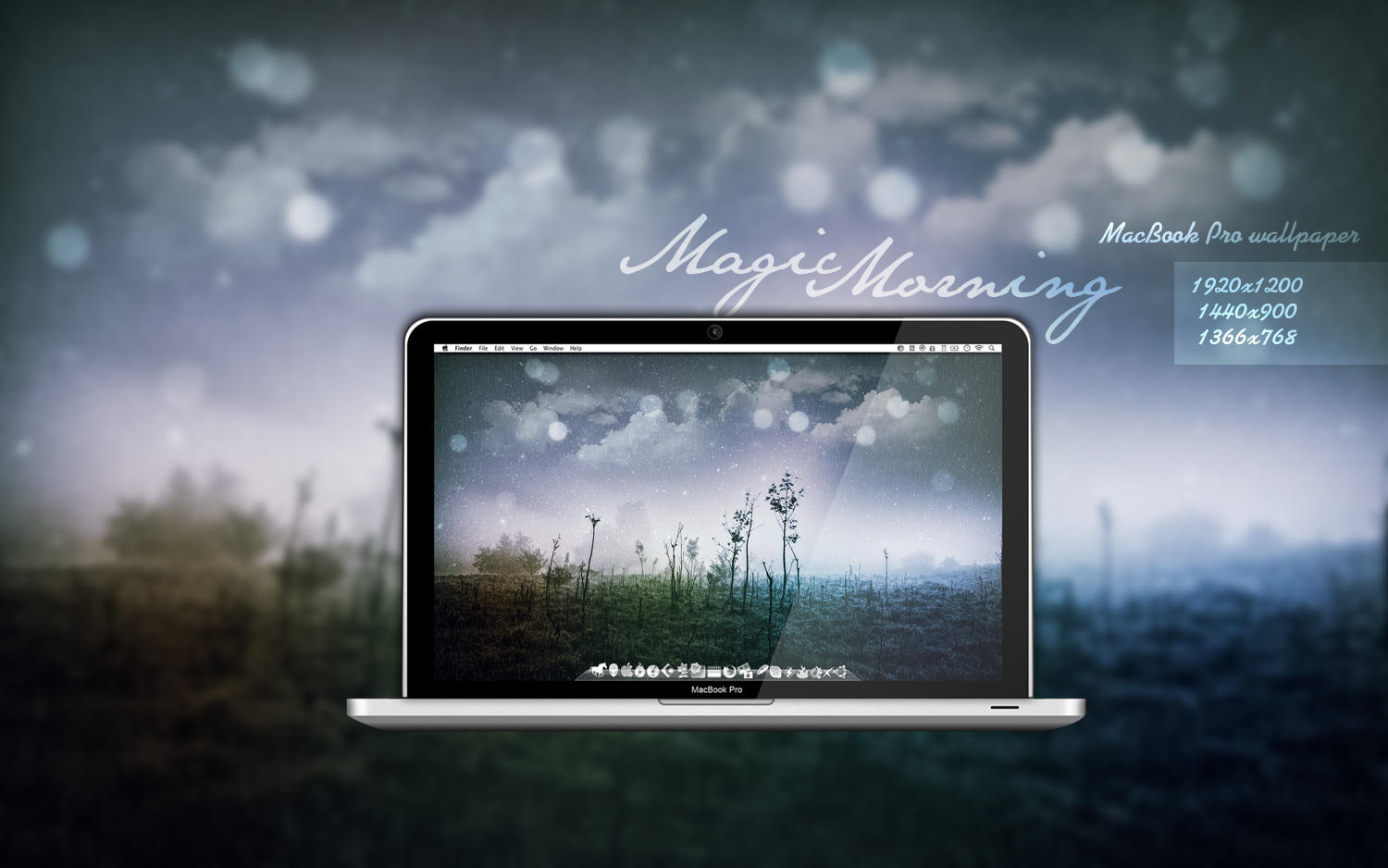 MBP Magic Morning Wallpaper by Martz90