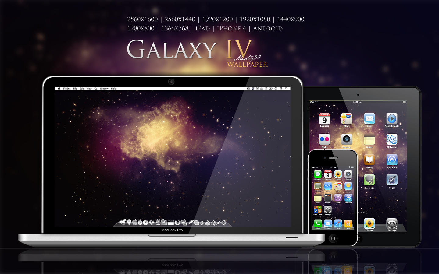 Galaxy IV Wallpaper by Martz90
