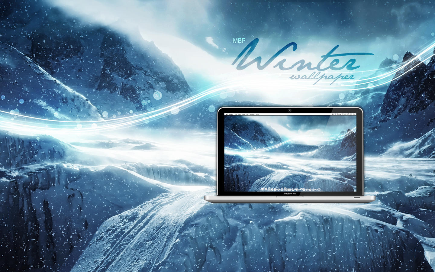 MBP Winter Wallpaper by Martz90