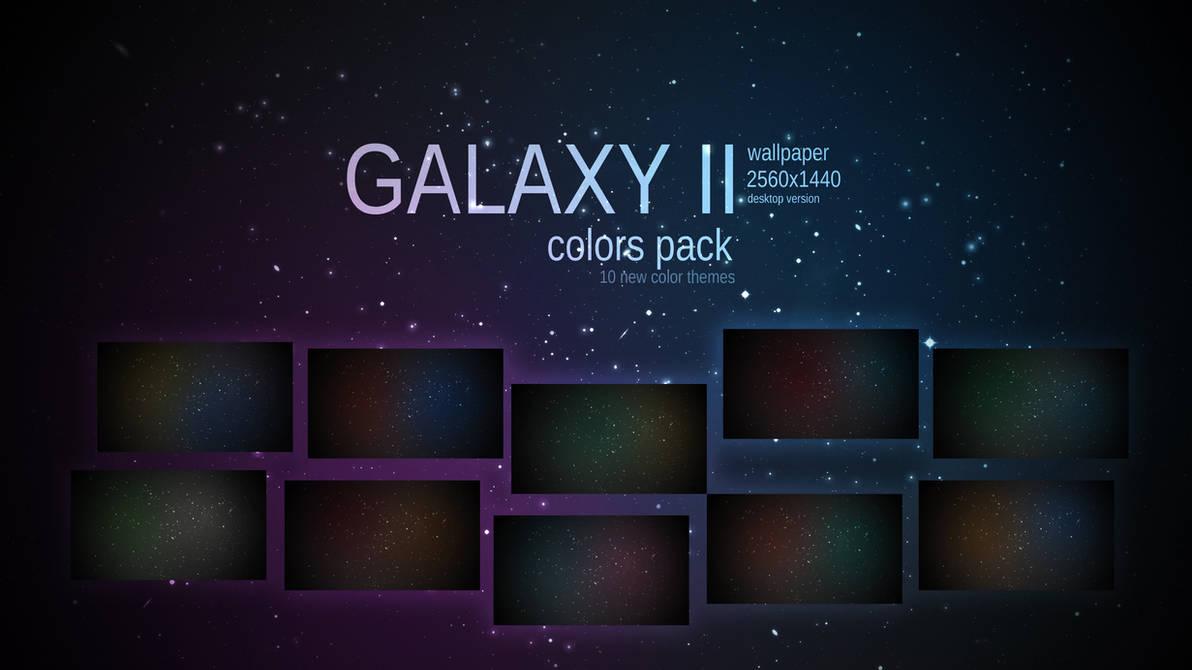 Galaxy II Desktop Wallpaper