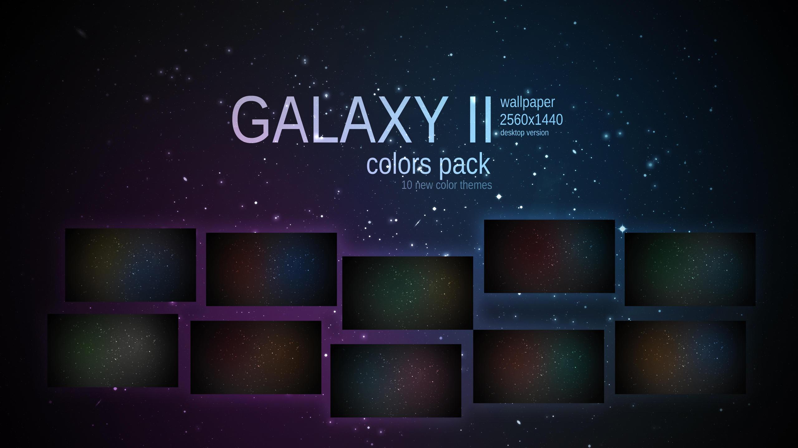 Galaxy II Wallpaper Colors Pack by Martz90