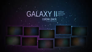 Galaxy II Wallpaper Colors Pack by Martz90