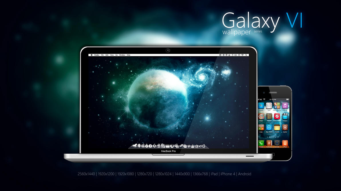 Galaxy Wallpaper VI by Martz90