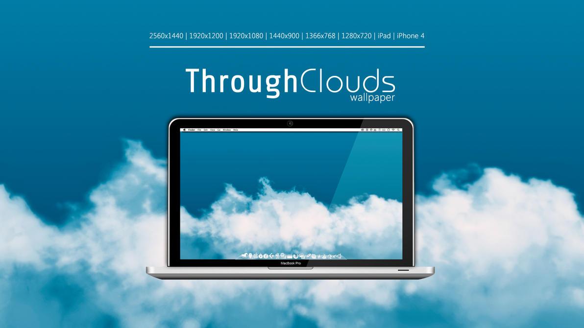 Through Clouds Wallpaper by Martz90