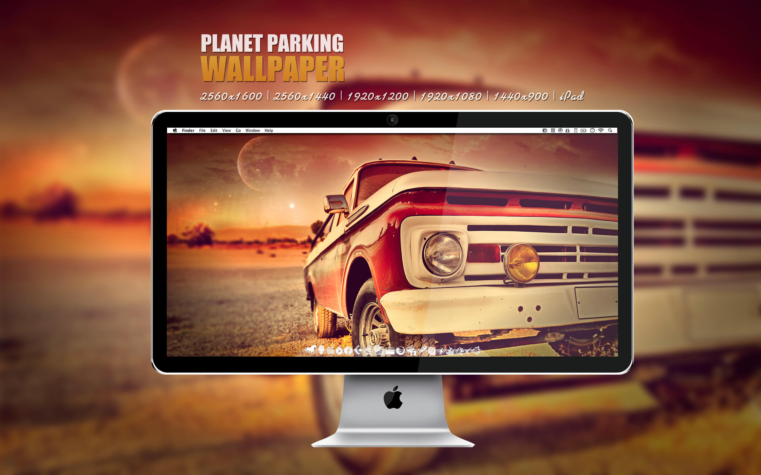 Planet Parking Wallpaper by Martz90