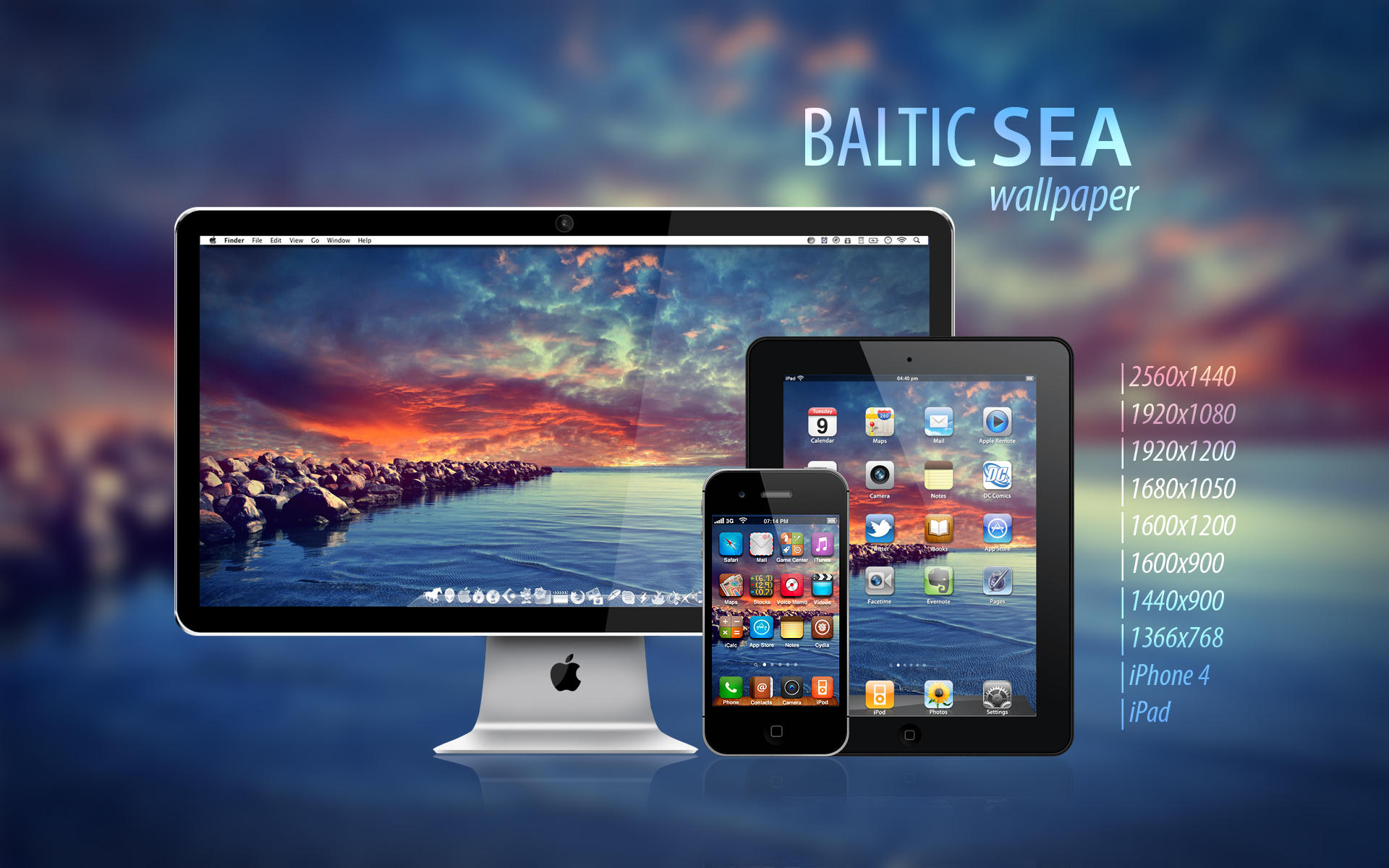 Baltic Sea HD desktop wallpaper Widescreen High Definition