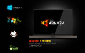 Burning systems wallpapers by Martz90