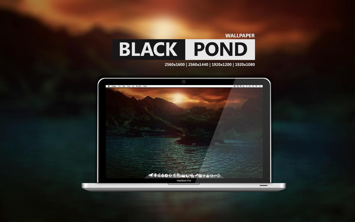 Black Pond Wallpaper by Martz90