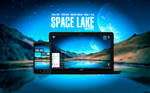 Space Lake Wallpaper