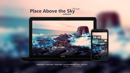 Place Above the Sky Wallpaper