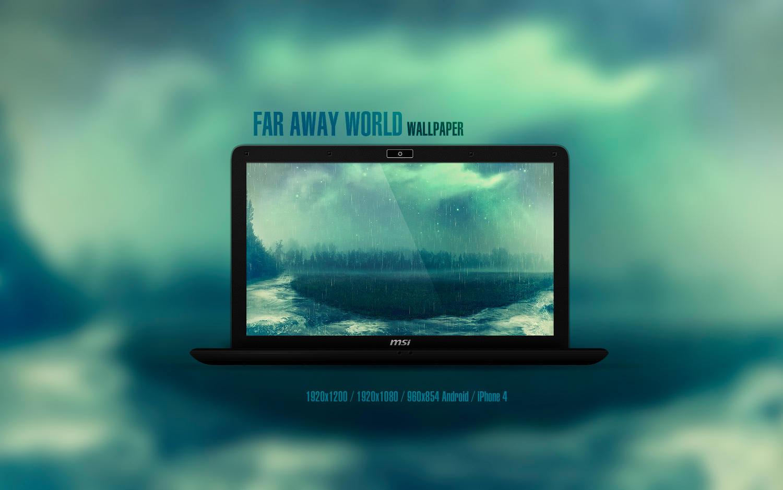 Far Away World Wallpaper by Martz90