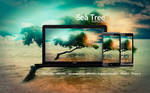 Sea Tree Wallpaper
