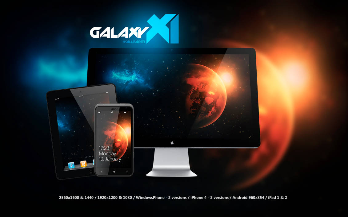 Galaxy X Wallpaper