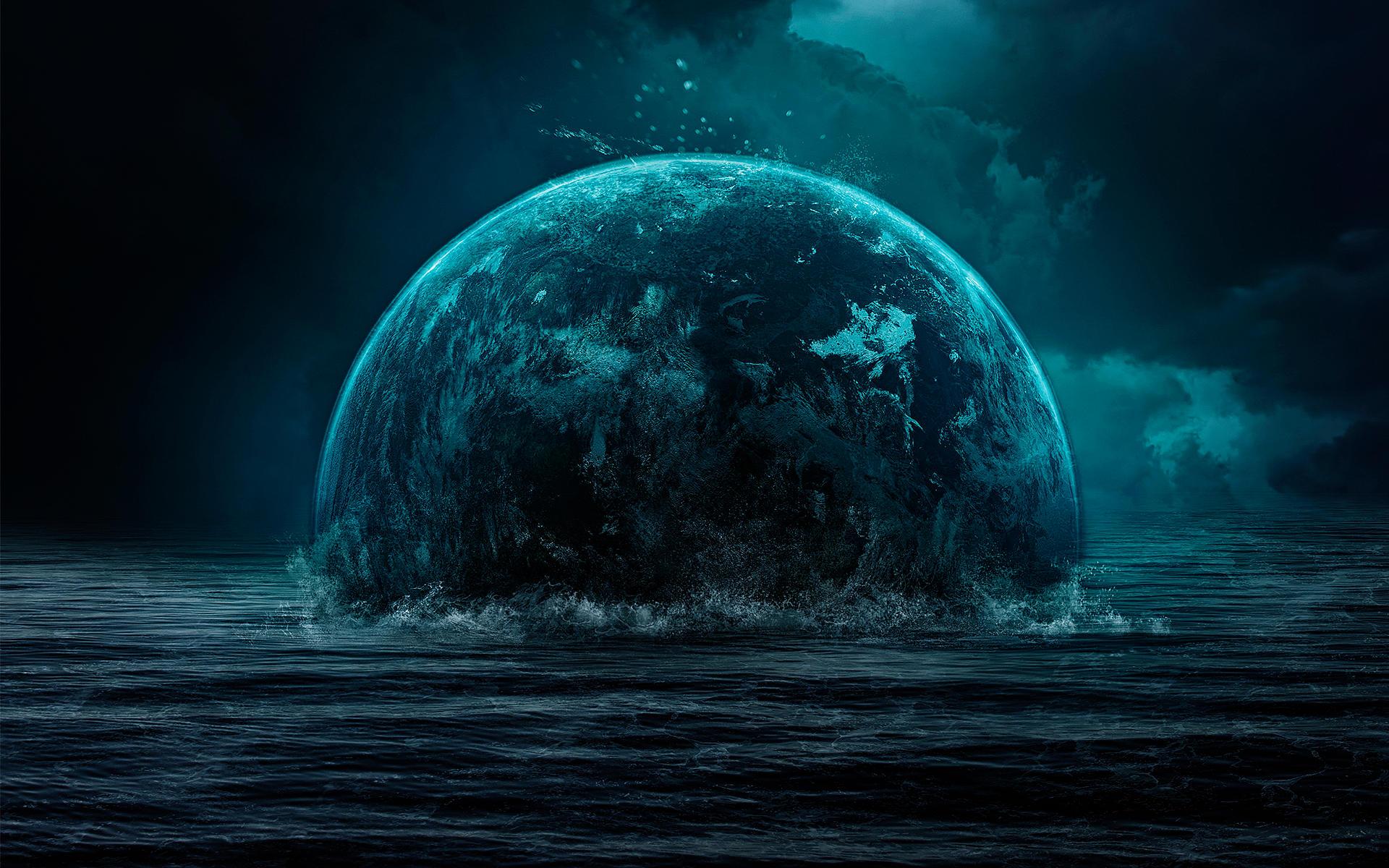 Sea Planet Wallpaper by Martz90