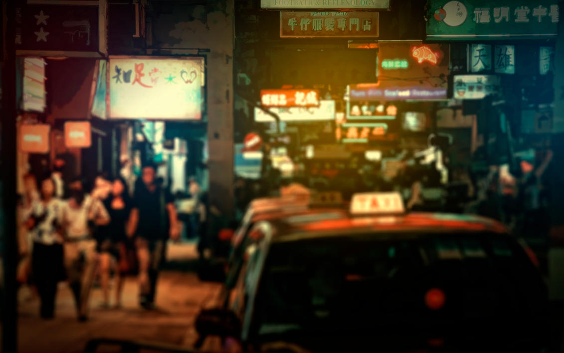 Hong Kong Wallpaper by Martz90