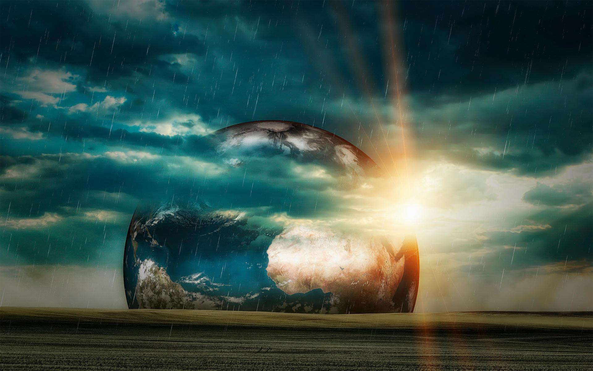 Planet View Wallpaper by Martz90