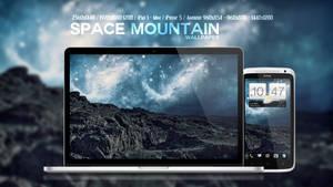 Space Mountain Wallpaper by Martz90