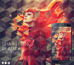 Shattering Reality Mobile Wallpaper