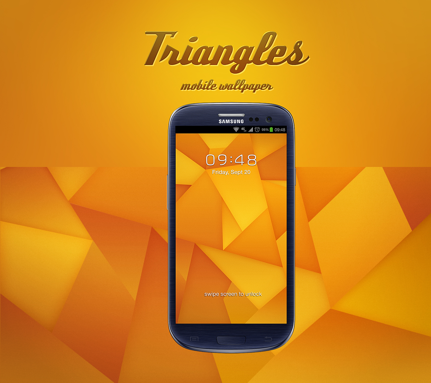 Triangles Wallpaper By Martz90 On Deviantart
