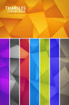Triangles Mobile Wallpaper Colors Pack