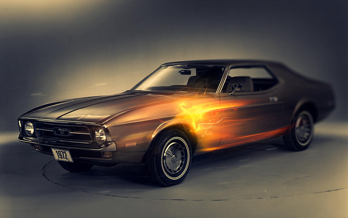 Mustang Wallpaper by Martz90