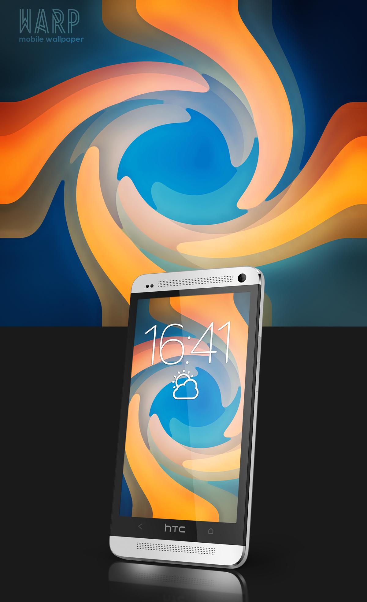 Warp Mobile Wallpaper by Martz90