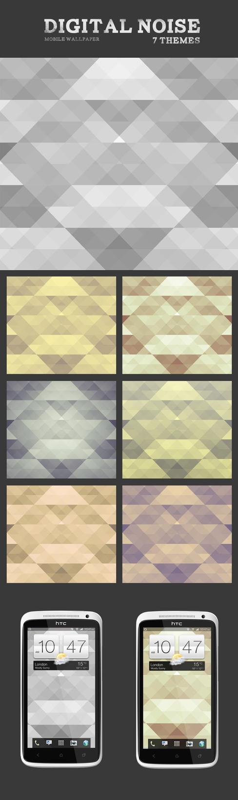 Digital Noise Mobile Wallpaper by Martz90