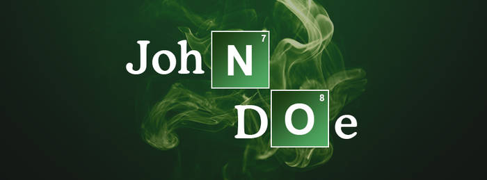 Breaking Bad Facebook cover PSD