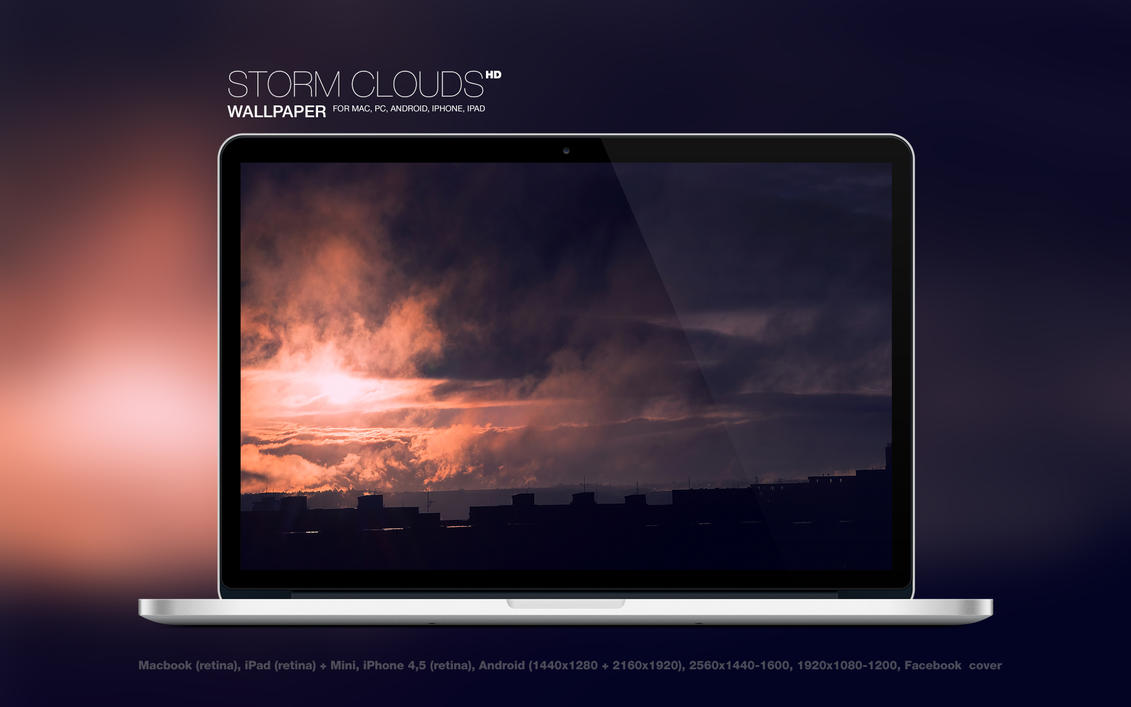 Storm Clouds HD Wallpaper by Martz90