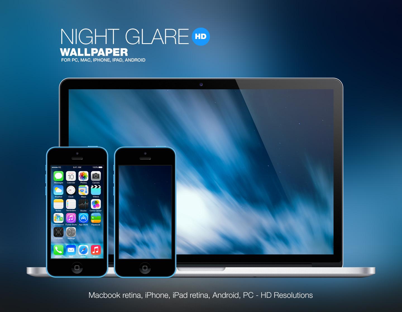 Night Glare HD Wallpaper by Martz90
