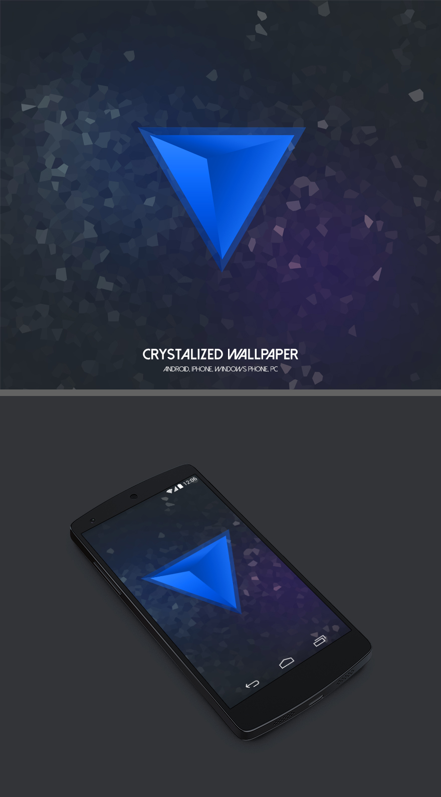 Crystalized Wallpaper by Martz90