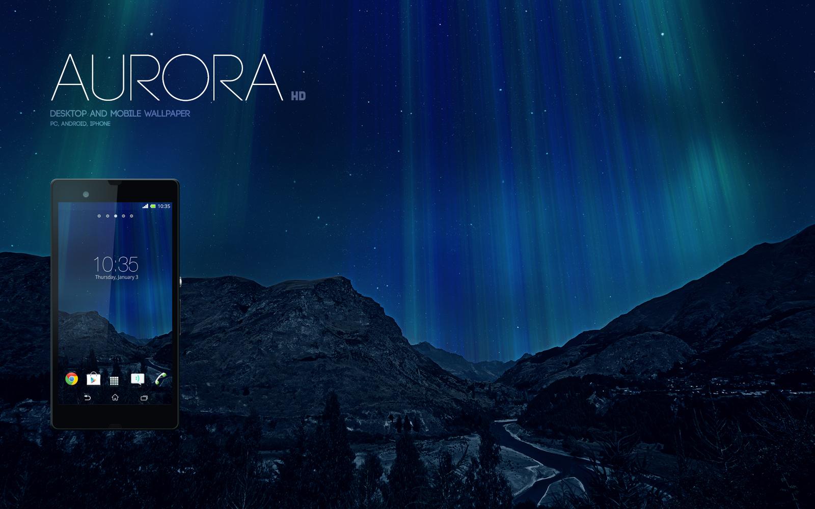 Aurora Wallpaper by Martz90
