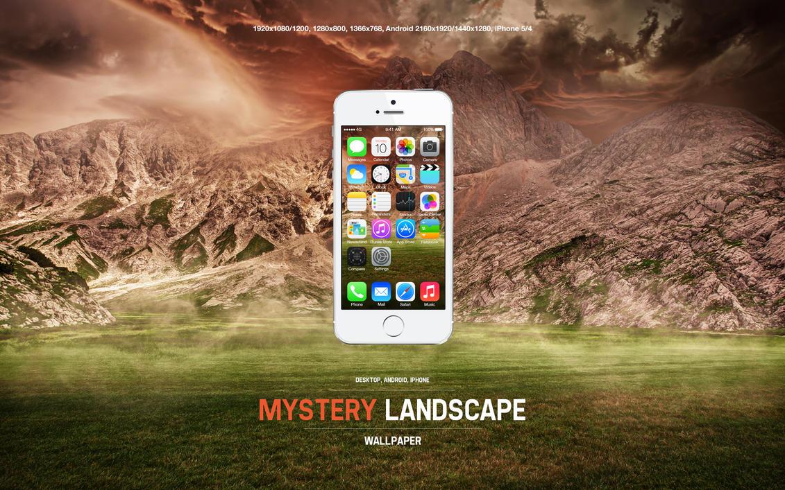 Mystery Landscape Wallpaper by Martz90