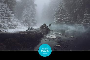 Winter Magic Wallpaper by Martz90