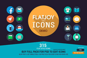 Flatjoy Circle Icons by Martz90