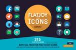 Flatjoy Circle Icons