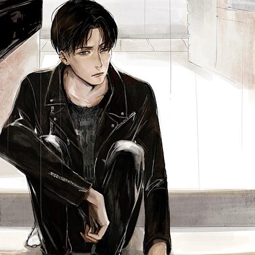 Rq: Teen!Levi x Teen!Reader - Following you by rivokko on DeviantArt