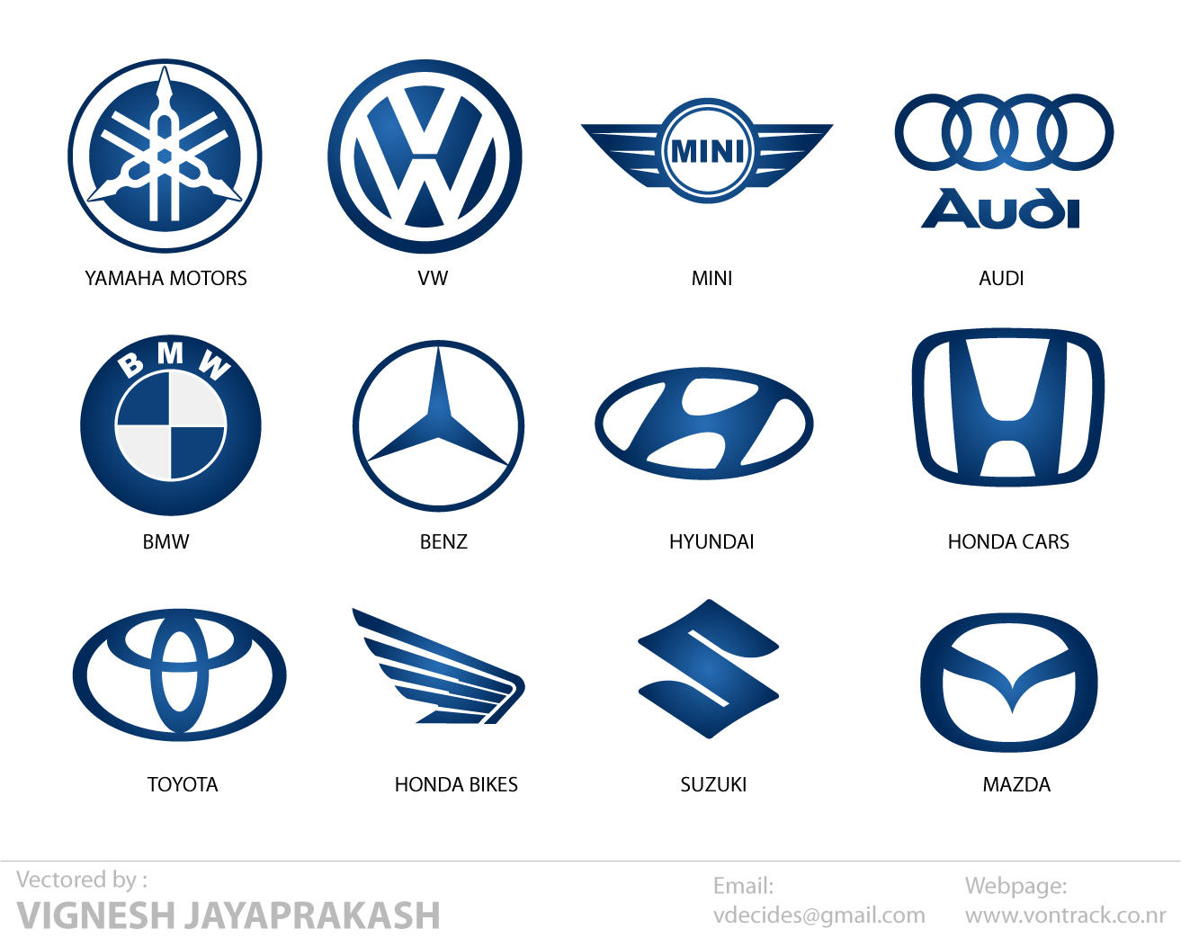 Automotive Logos by vdecides on DeviantArt
